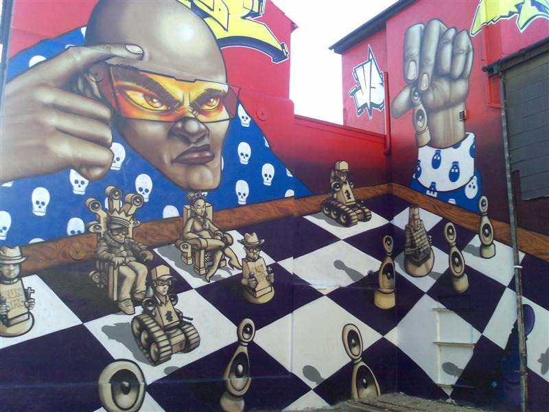 Chess Graffiti