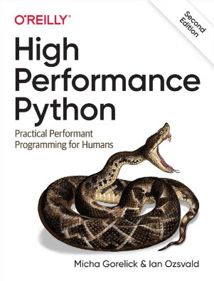 Oreilly High Performance Python by Micha Gorelick & Ian Ozsvald